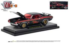 Dodge  - Challenger 1970 black/red - 1:24 - M2 Machines - 40300-72A - M2-40300-72A | The Diecast Company