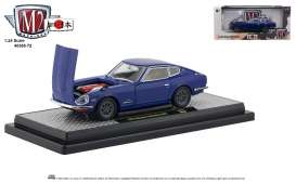 Nissan  - Fairlady 1970 blue/black - 1:24 - M2 Machines - 40300-72B - M2-40300-72B | The Diecast Company
