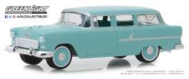 Chevrolet  - Two-Ten Townsman 1955 blue/green - 1:64 - GreenLight - 29970A - gl29970A | The Diecast Company