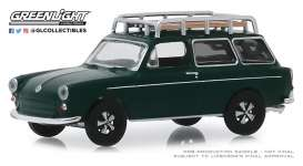 Volkswagen  - Type 3  1969 green - 1:64 - GreenLight - 29970B - gl29970B | The Diecast Company
