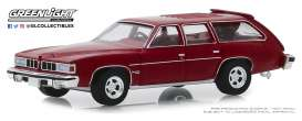 Pontiac  - Grand LeMans 1976 red - 1:64 - GreenLight - 29970E - gl29970E | The Diecast Company