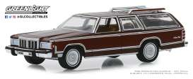 Mercury  - Grand Marquis 1980 brown - 1:64 - GreenLight - 29970F - gl29970F | The Diecast Company