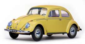Volkswagen  - Beetle saloon 1949 yellow - 1:12 - SunStar - 5217 - sun5217 | The Diecast Company