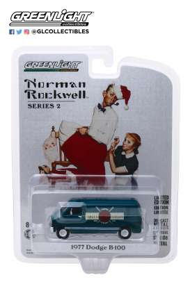 Dodge  - B-100 1977 blue - 1:64 - GreenLight - 54020F - gl54020F | The Diecast Company
