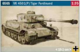 Military Vehicles  - Tiger Ferdinand  - 1:35 - Italeri - 6565 - ita6565 | The Diecast Company