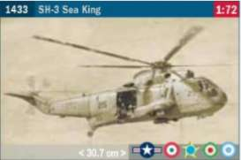 Helicopters  - SH-3 Sea King  - 1:48 - Italeri - 1433 - ita1433 | The Diecast Company