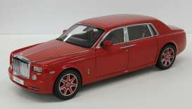 Rolls Royce  - light red - 1:18 - Kyosho - 8841lr - kyo8841lr | The Diecast Company