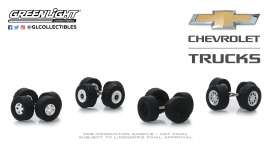 Wheels & tires Rims & tires - 1:64 - GreenLight - 16030A - gl16030A | The Diecast Company