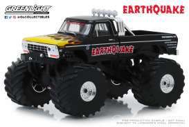 Ford  - F-250 Monster Truck 1975 black - 1:43 - GreenLight - 88022 - gl88022 | The Diecast Company