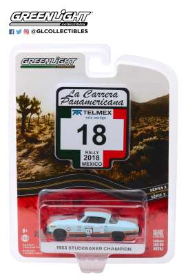 Studebaker  - Champion 1953 blue - 1:64 - GreenLight - 13260B - gl13260B | The Diecast Company