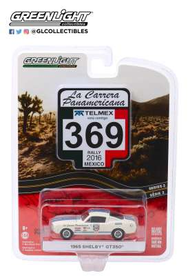 Shelby  - GT350 1965 white - 1:64 - GreenLight - 13260D - gl13260D | The Diecast Company