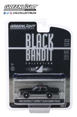 Chevrolet  - Caprice  1980 black - 1:64 - GreenLight - 28010D - gl28010D | The Diecast Company