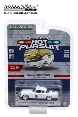 Studebaker  - Commander 1954 white - 1:64 - GreenLight - 42910A - gl42910A | The Diecast Company