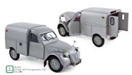 Citroen  - 2CV 1957 grey - 1:18 - Norev - 181490 - nor181490 | The Diecast Company