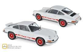 Porsche  - 911 RS 1973 white/red - 1:18 - Norev - 187639 - nor187639 | The Diecast Company