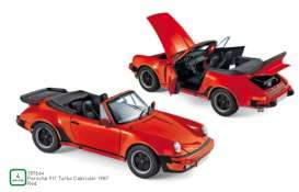 Porsche  - 911 Turbo 1987 red - 1:18 - Norev - 187664 - nor187664 | The Diecast Company