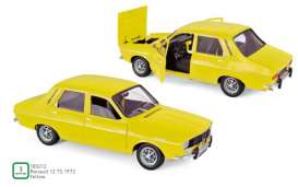 Renault  - 12 TS 1973 yellow - 1:18 - Norev - 185212 - nor185212 | The Diecast Company