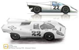 Porsche  - 917K 1970 white - 1:12 - Norev - 127504 - nor127504 | The Diecast Company