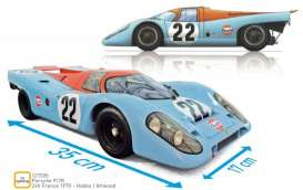 Porsche  - 917K 1970 blue/orange - 1:12 - Norev - 127505 - nor127505 | The Diecast Company
