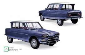 Citroen  - Ami 1965 blue - 1:18 - Norev - 181537 - nor181537 | The Diecast Company