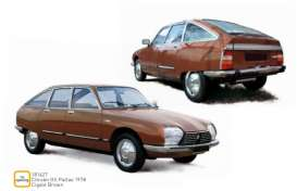 Citroen  - GS Pallas 1978 brown - 1:18 - Norev - 181627 - nor181627 | The Diecast Company