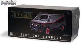 GMC  - Vandura *A Team* 1983 grey/black - 1:12 - GreenLight - 12101 - gl12101 | The Diecast Company