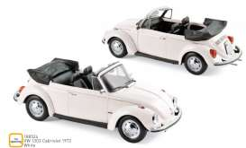 Volkswagen  - 1303 Cabriolet 1972 white - 1:18 - Norev - 188524 - nor188524 | The Diecast Company
