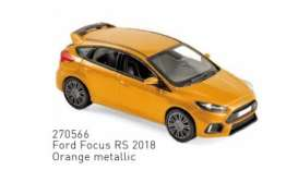 Ford  - Focus RS 2018 orange - 1:43 - Norev - 270566 - nor270566 | The Diecast Company