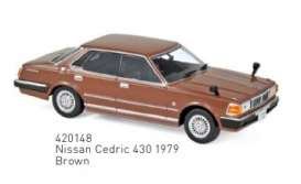 Nissan  - Cedric 430 1979 brown - 1:43 - Norev - 420148 - nor420148 | The Diecast Company