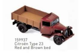 Citroen  - Type 23 1958 red/brown - 1:87 - Norev - 159937 - nor159937 | The Diecast Company