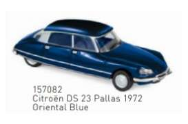 Citroen  - DS 23 Pallas 1972 blue - 1:87 - Norev - 157082 - nor157082 | The Diecast Company