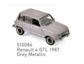 Renault  - 4 GTL 1987 grey metallic - 1:87 - Norev - 510086 - nor510086 | The Diecast Company