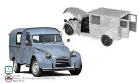 Citroen  - 2CV 1966 blue - 1:18 - Norev - 181491 - nor181491 | The Diecast Company