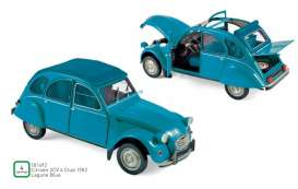 Citroen  - 2CV 1982 blue - 1:18 - Norev - 181492 - nor181492 | The Diecast Company
