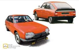 Citroen  - GS Pallas 1978 orange - 1:18 - Norev - 181628 - nor181628 | The Diecast Company