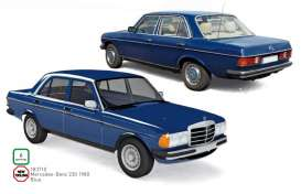 Mercedes Benz  - 230 1980 blue - 1:18 - Norev - 183710 - nor183710 | The Diecast Company