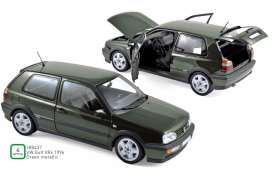 Volkswagen  - Golf VR6 1996 green - 1:18 - Norev - 188437 - nor188437 | The Diecast Company