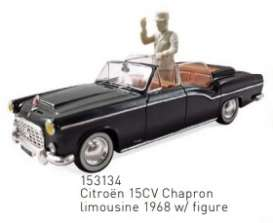 Citroen  - 15CV 1968 black - 1:43 - Norev - 153134 - nor153134 | The Diecast Company