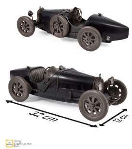 Bugatti  - T35 1925 black - 1:12 - Norev - 125701 - nor125701 | The Diecast Company