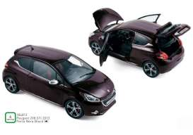 Peugeot  - 208 GTi 2013 black - 1:18 - Norev - 184812 - nor184812 | The Diecast Company