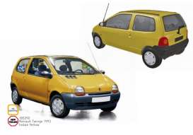 Renault  - Twingo 1993 yellow - 1:18 - Norev - 185290 - nor185290 | The Diecast Company