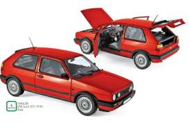 Volkswagen  - 1990 red - 1:18 - Norev - 188438 - nor188438 | The Diecast Company