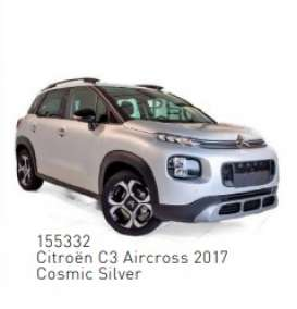 Citroen  - C3 Aircross 2017 silver - 1:43 - Norev - 155332 - nor155332 | The Diecast Company