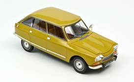 Citroen  - Ami 8 Club 1969 yellow - 1:18 - Norev - 181670 - nor181670 | The Diecast Company
