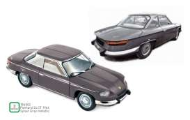 Panhard  - 24CT 1964 silver/grey - 1:18 - Norev - 184502 - nor184502 | The Diecast Company