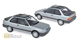 Peugeot  - 309 GTi 1987 grey - 1:18 - Norev - 184882 - nor184882 | The Diecast Company