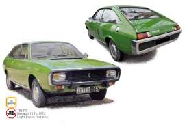 Renault  - 15 TL 1973 green - 1:18 - Norev - 185282 - nor185282 | The Diecast Company