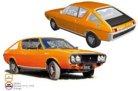 Renault  - 17 TL 1973 orange - 1:18 - Norev - 185281 - nor185281 | The Diecast Company
