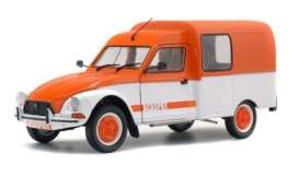Citroen  - Acadiane Acaspot white/orange - 1:18 - Solido - 1800404 - soli1800404 | The Diecast Company