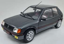Peugeot  - 205 GTI grey - 1:18 - Solido - 1801704 - soli1801704 | The Diecast Company